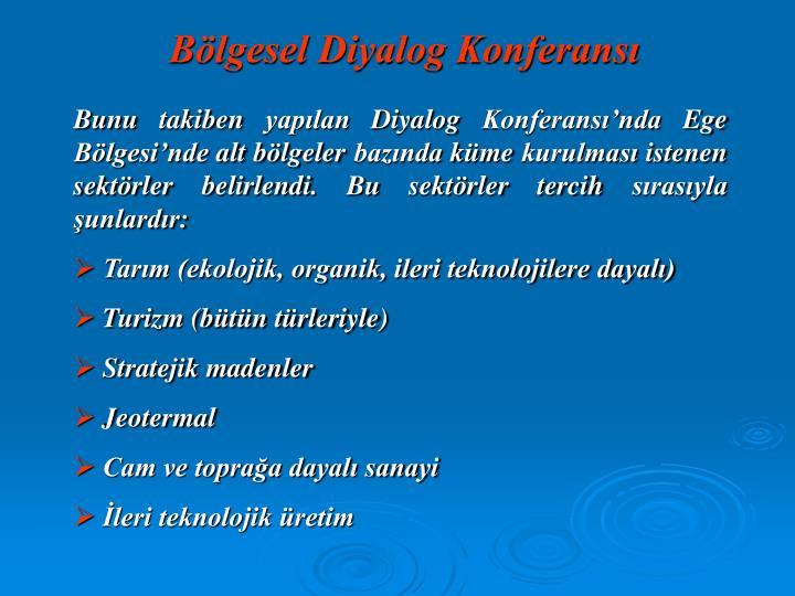 Bölgesel Diyalog Konferansı
