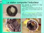 le stator comporte l inducteur1