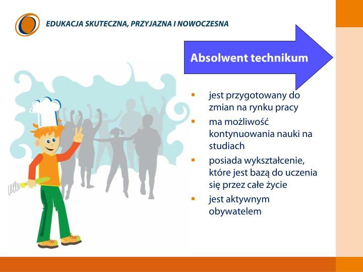 jest przygotowany do zmian na rynku pracy
