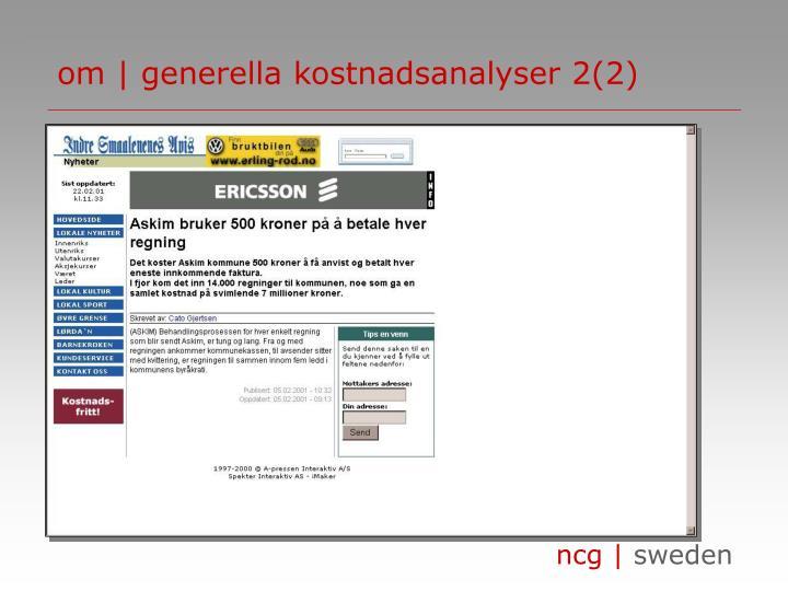 om | generella kostnadsanalyser 2(2)