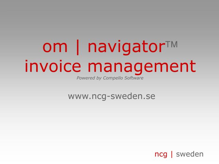 om | navigator