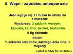 5 wap zapobiec osteoporozie