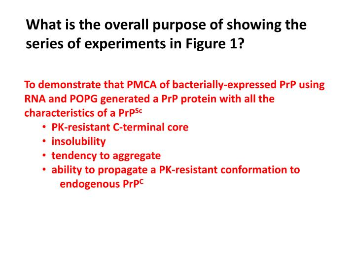 What is the overall purpose of showing the series of experiments in Figure 1?