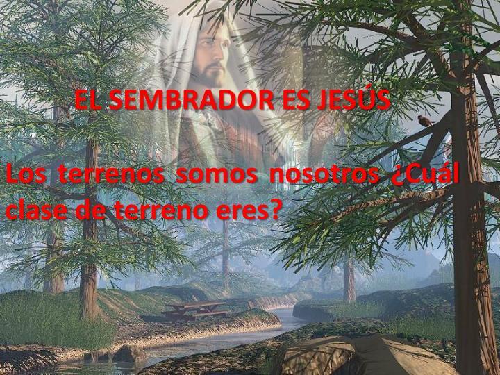 EL SEMBRADOR ES JESÚS