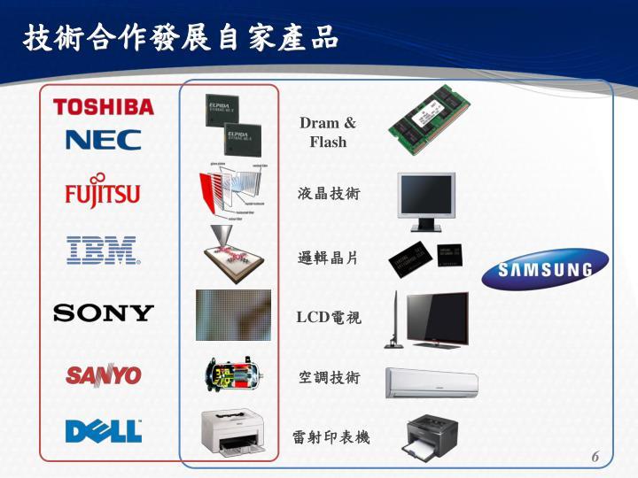 技術合作發展自家產品
