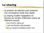 le sharing