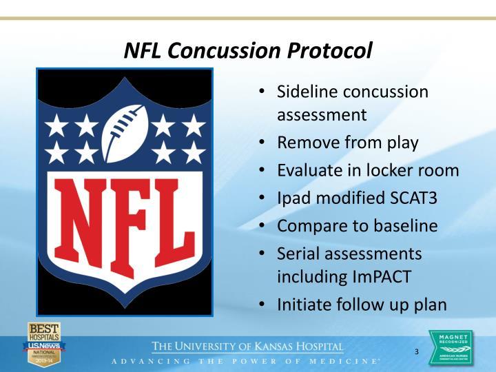 NFL Concussion Protocol