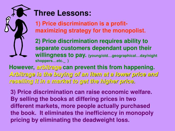Three Lessons: