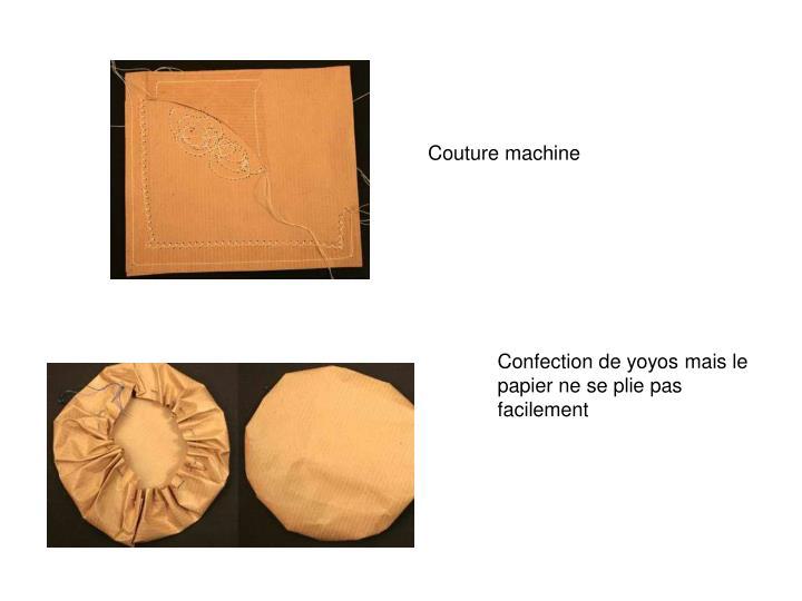 Couture machine