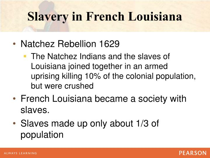 Slavery in French Louisiana