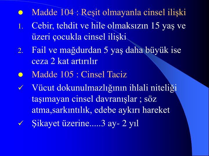 Madde 104