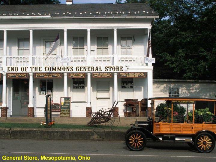 General Store, Mesopotamia, Ohio