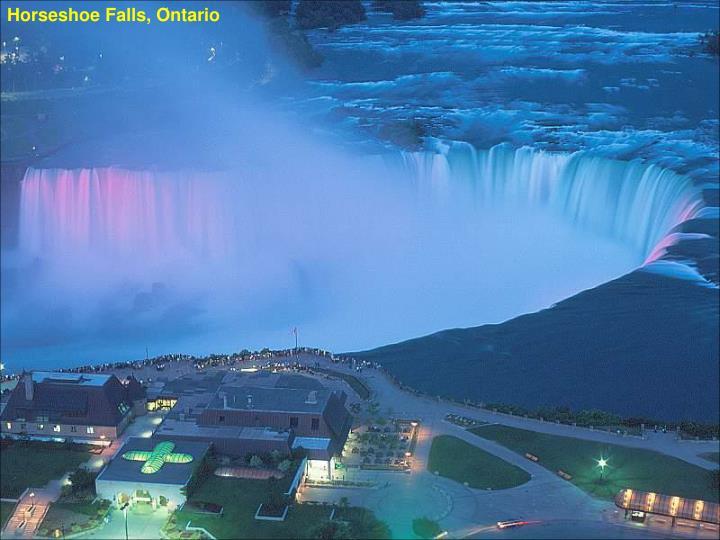 Horseshoe Falls, Ontario