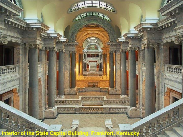 Interior of the State Capital Building,