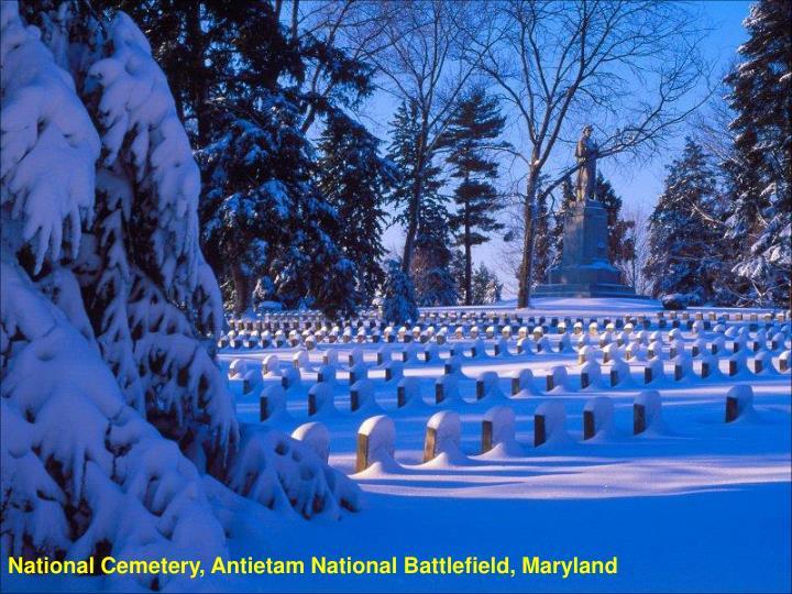 National Cemetery, Antietam National Battlefield, Maryland