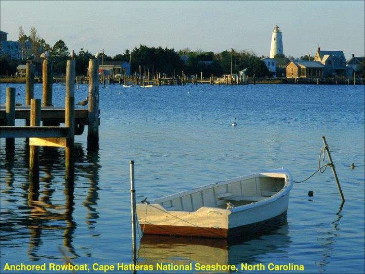 Anchored Rowboat, Cape Hatteras National Seashore, North Carolina