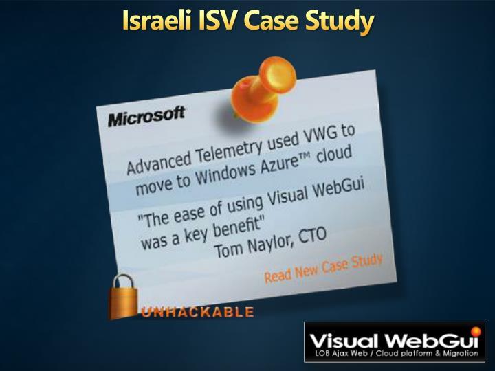 Israeli ISV Case Study