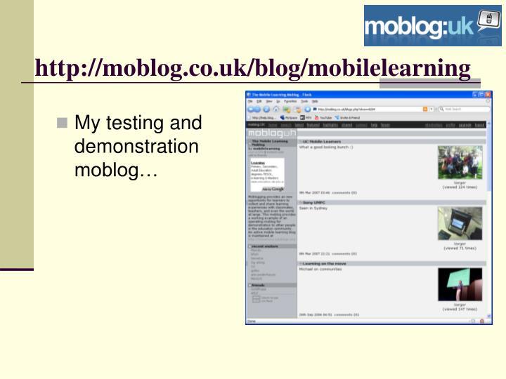 http://moblog.co.uk/blog/mobilelearning