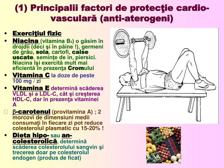 (1) Principalii factori