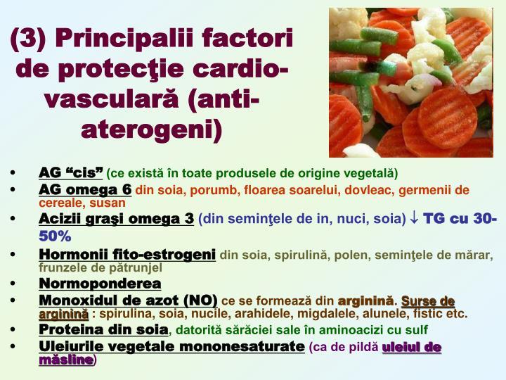 (3) Principalii factori