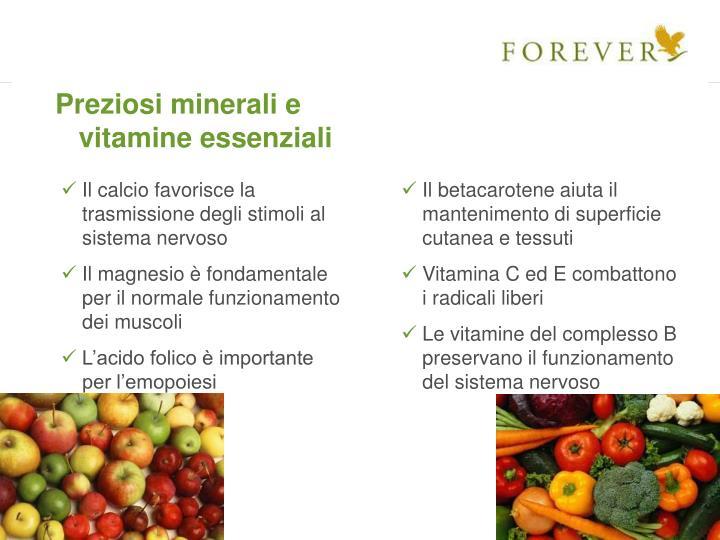 Preziosi minerali e