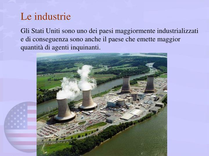Le industrie