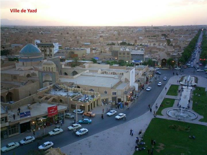 Ville de Yazd