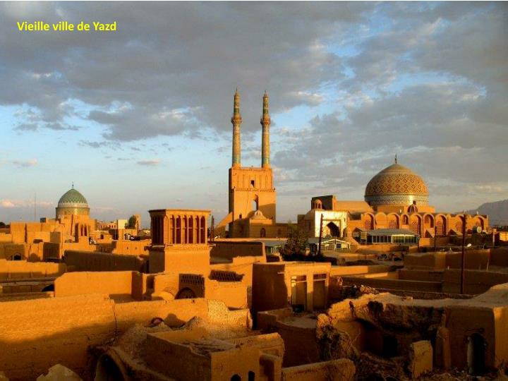 Vieille ville de Yazd