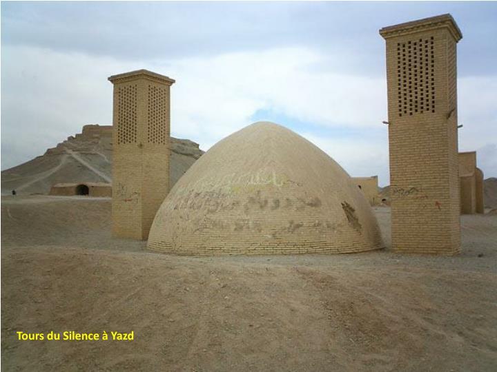 Tours du Silence à Yazd