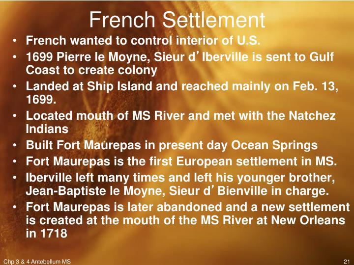 French Settlement
