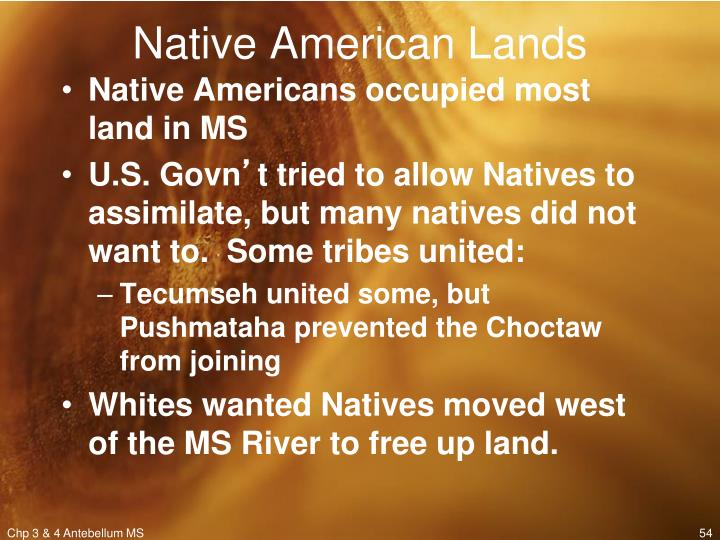 Native American Lands