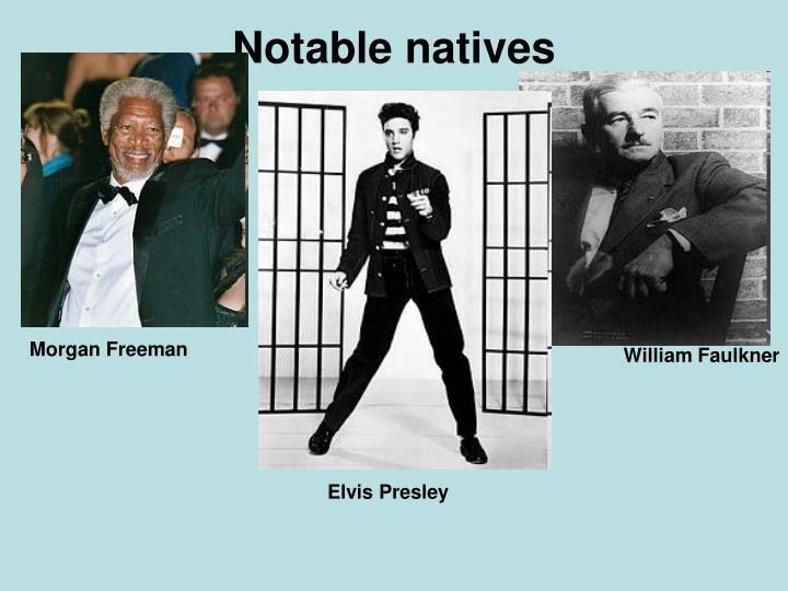 Notable natives