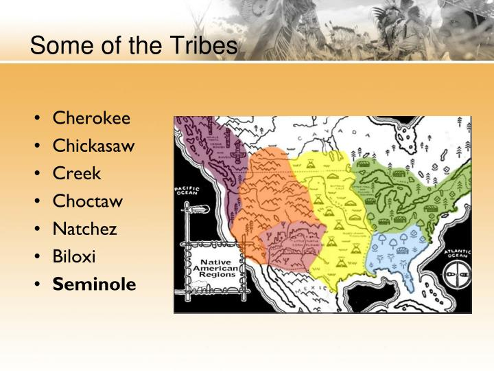 Some of the Tribes