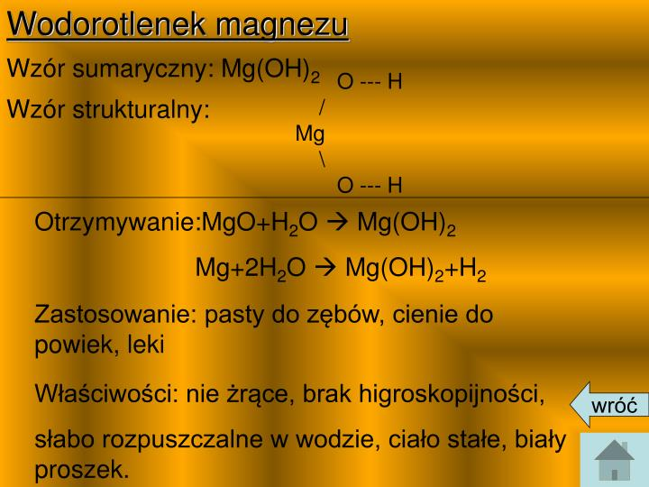 Wodorotlenek magnezu