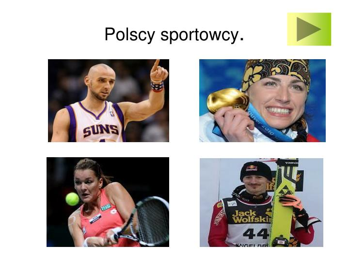 Polscy sportowcy
