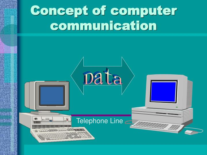 Concept of computer communication