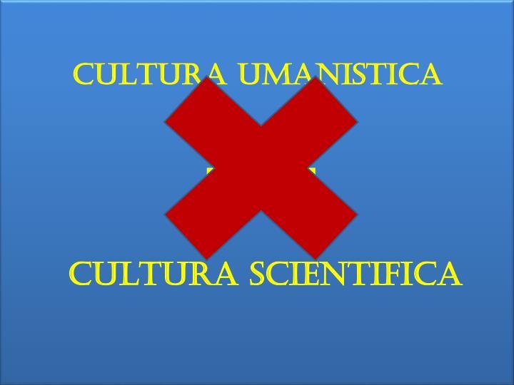 CULTURA UMANISTICA