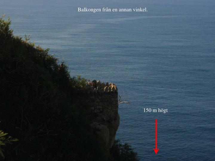 Balkongen frn en annan vinkel.