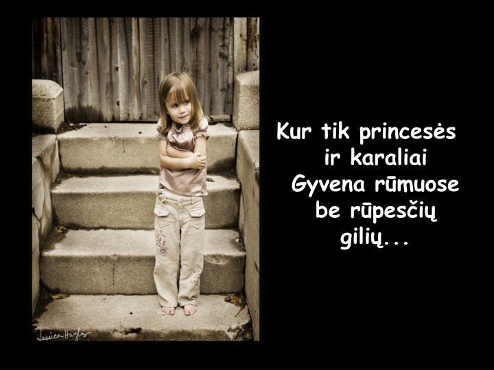 Kur tik princesės ir karaliai