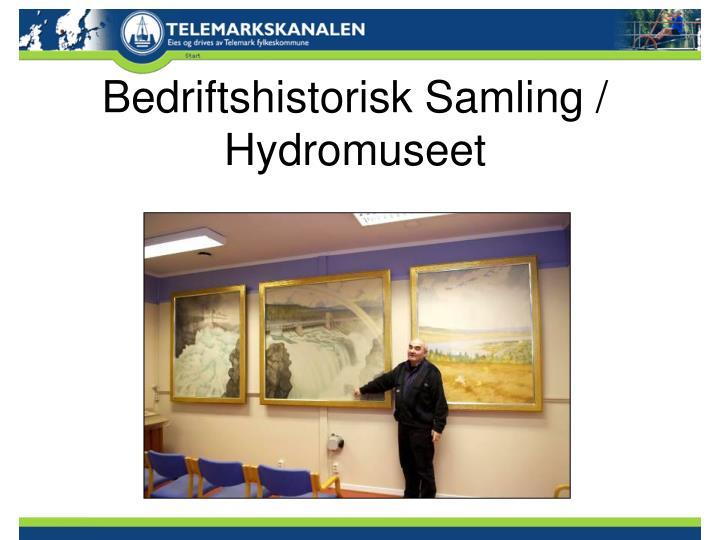 Bedriftshistorisk Samling / Hydromuseet