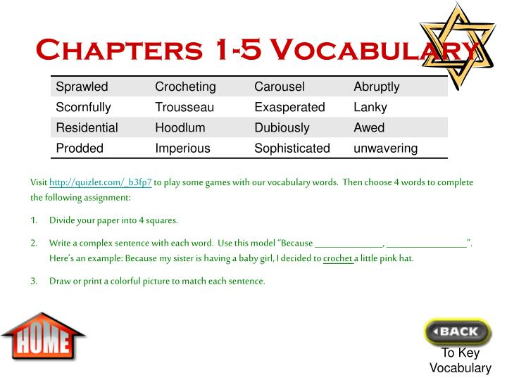 Chapters 1