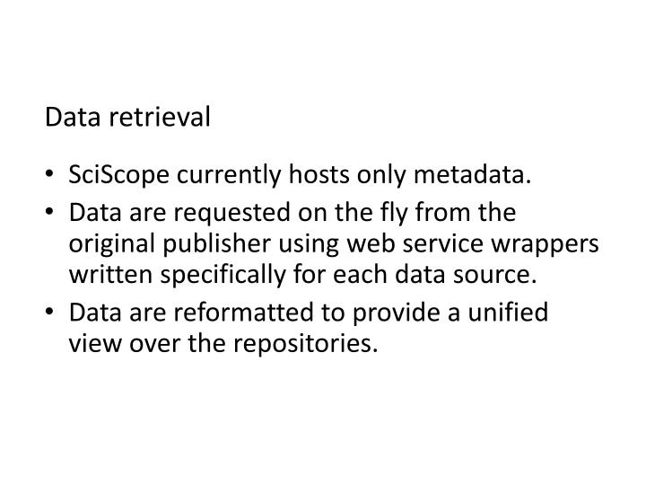 Data retrieval