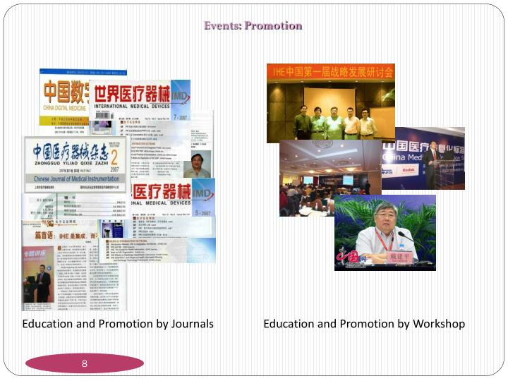 Events: Promotion