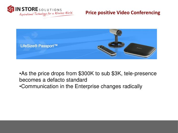 Price positive Video Conferencing