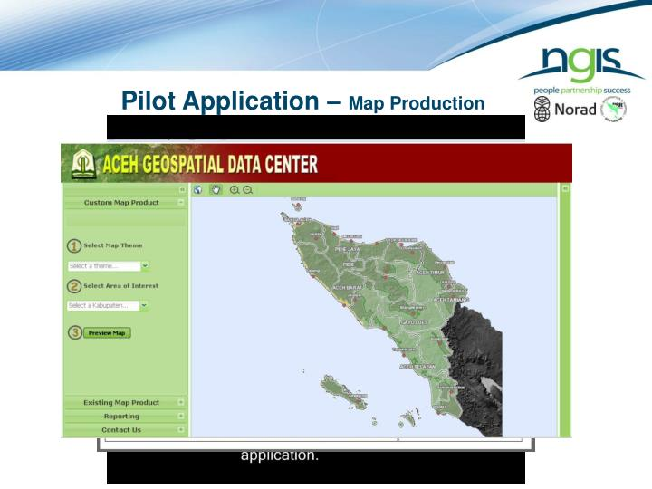 Pilot Application –