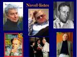 novel listes