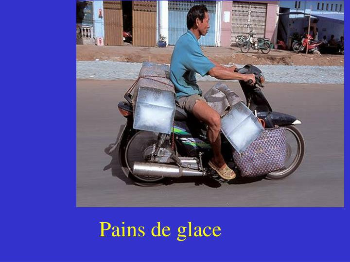 Pains de glace
