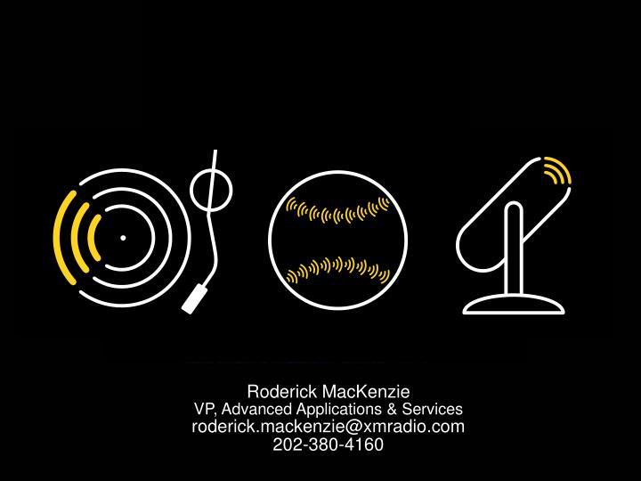 Roderick MacKenzie