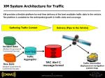 xm system architecture for traffic
