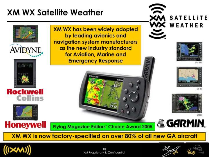 XM WX Satellite Weather
